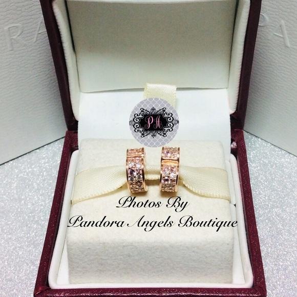 Pandora Jewelry - 2 New Pandora Rose Arch Of Love Clip Set